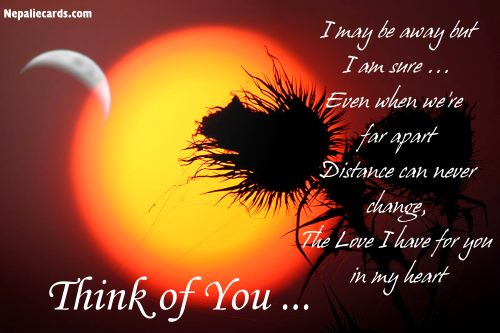 Thinking of You ...