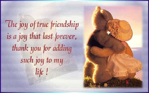 Joy of True Friendship